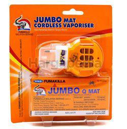 Fumakilla Jumbo Mat Cordless Vaporizer with Q Mat 1set