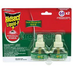 Ridsect Liquid Pine 60 Nights Refill 2x44ml