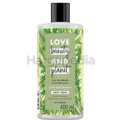 Love Beauty & Planet Pure & Positive Body Wash 400ml