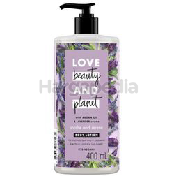 Love Beauty & Planet Smooth & Serene Body Lotion 400ml