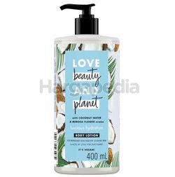 Love Beauty & Planet Luscious Hydration Body Lotion 400ml