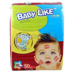 Baby Like Mega Pack Baby Diapers XL50