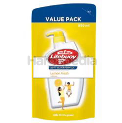 Lifebuoy Body Wash Refill Lemon Fresh 850ml