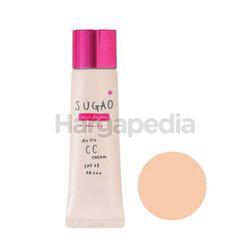 Sugao Air Fit CC Cream Pink Moist 01 25gm