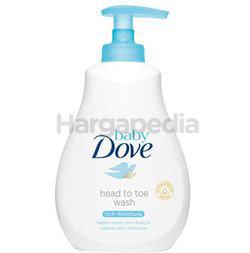 Baby Dove Rich Moisture Head to Toe Wash 400ml