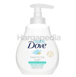 Baby Dove Sensitive Moisture Head to Toe Wash 200ml
