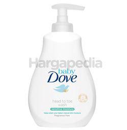 Baby Dove Sensitive Moisture Head to Toe Wash 400ml