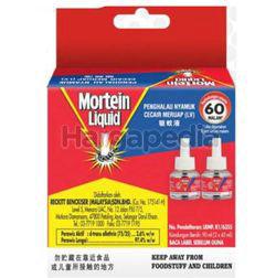 Mortein Liquid Refill 60 Nights 2x45ml