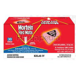 Mortein Red Mats Refill 30s
