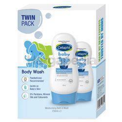 Cetaphil Baby Ultra Moisturizing Bath & Wash 2x230ml