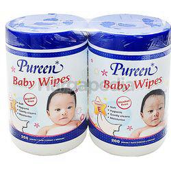 Pureen Baby Wipes 2x200s