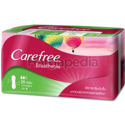 Carefree Breathable Pantyliner Scented 20s