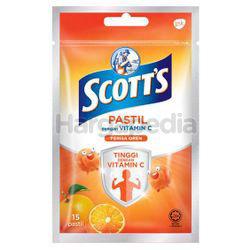 Scott's Vitamin C Orange Pastilles 15s