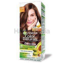 Garnier Colour Naturals Creme Riche 5.32 Caramel Brown 1s