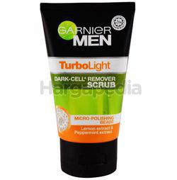 Garnier Men TurboLight Dark Cell Remover Scrub 100ml