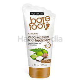 Freeman Barefoot Neem Oil & Shea Butter Repairing Cracked Heel Foot Treatment 100ml