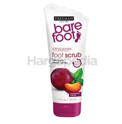 Freeman Barefoot Peppermint & Plum Exfoliating Foot Scrub 150ml