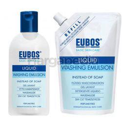 Eubos Liquid Blue 400ml + Refill 400ml