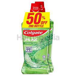 Colgate Plax Fresh Tea Mouthwash 2x750ml