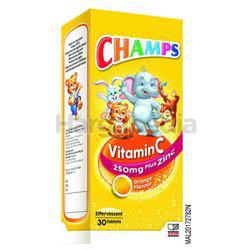 Champs Effervescent Vitamin C Plus Zinc 30s