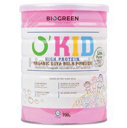 Biogreen O'Kid High Protein Organic Soy Milk 700gm