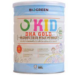 Biogreen O'Kid DHA Gold Organic Soya Milk Powder 800gm