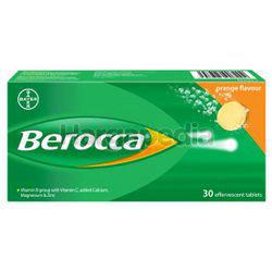 Berocca Effervescent Tablet Orange 30s