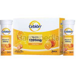 Cebion Effervescent Tables Oral Intake 1000mg 40s + 20s