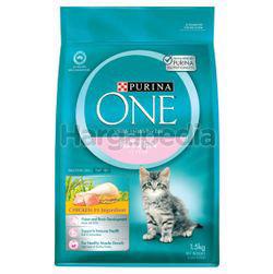 Purina One Kitten Chicken Cat Food 1.5kg