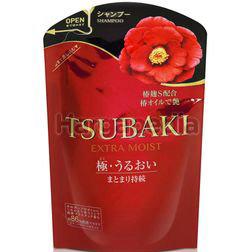 Tsubaki Extra Moist Shampoo Refill 345ml