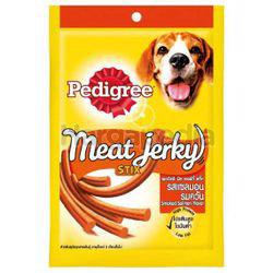 Pedigree Meat Jerky Stix Smoked Salmon 60gm