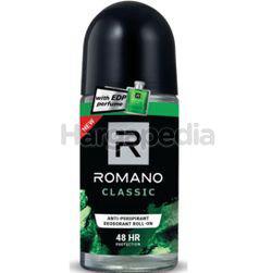 Romano Men Deodorant Roll On Classic 50ml