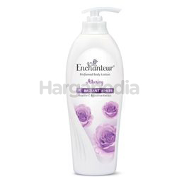 Enchanteur Alluring Radiant White Perfumed Body Lotion 400ml