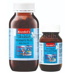 Kordel's Bio Liquid Women's Multi with Fish Oil 120s + 30s