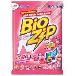 Bio Zip Detergent Powder Parfum Bouquet 2.3kg