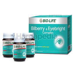 Bio-Life Bilberry & Eyebright 3x30s