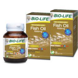 Bio-Life Bio-Enriched Fish Oil 1000mg 2x30s