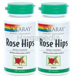 Solaray Rose Hips 2x100s
