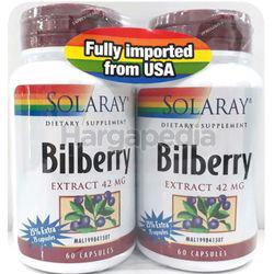Solaray Bilberry 2x60s