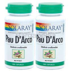 Solaray Pau D'Arco 510mg 2x100s