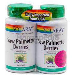 Solaray Saw Palmetto Berries 2x100s