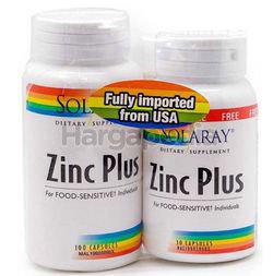 Solaray Calcium Magnesium & Zinc 100s+30s