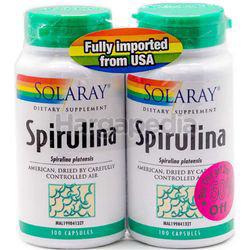 Solaray Spirulina 2x100s