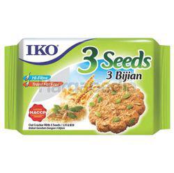 IKO Oatmeal Crackers 3 Seeds 178gm