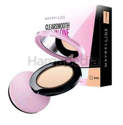 Maybelline Clear Smooth All-in-One Light UV-Lightening Oil Control Pressed Powder 1s