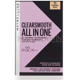 Maybelline Clear Smooth All-in-One Light UV-Lightening Oil Control Pressed Powder Refill 1s