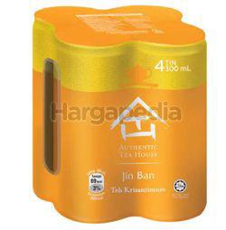 Authentic Tea House Jin Ban Chrysanthemum Tea 4x300ml