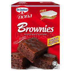 Dr. Oetker Nona Brownies Chocolate Fudge 510gm