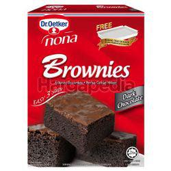 Dr. Oetker Nona Brownies Dark Chocolate 510gm