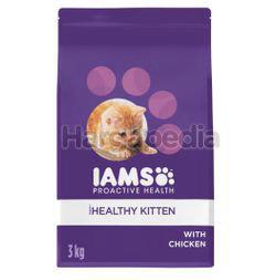 IAMS Kitten Chicken Dry Cat Food 3kg